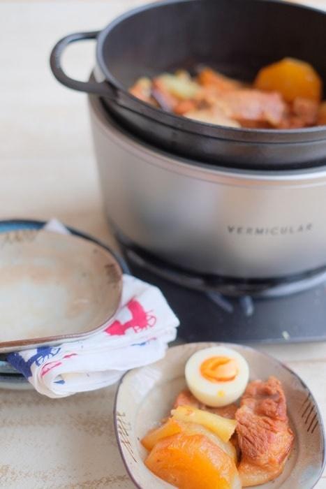 バーミキュラライスポットで作る煮豚