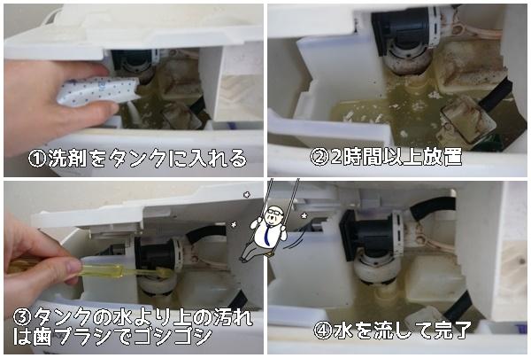 木村石鹸 水栓トイレタンク用洗浄剤の使い方