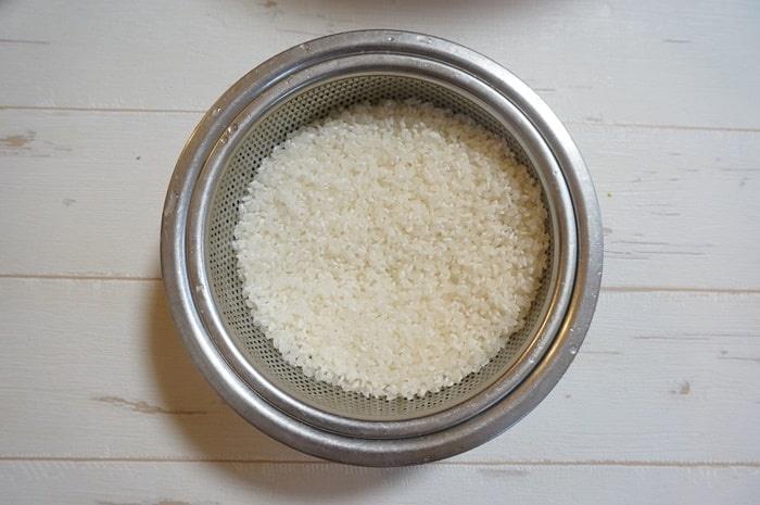 ホットクックでお米を炊く方法