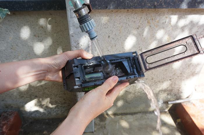 水洗いできるルンバi7+のダスト容器