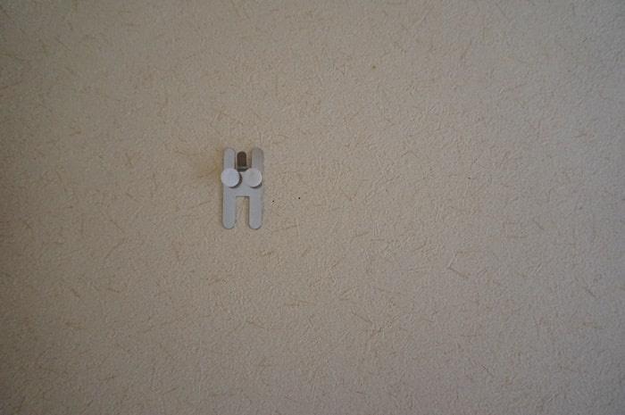 壁に付けられる家具 金具