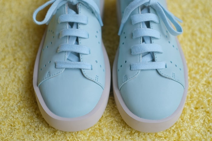 カンペールの靴 上から見た画像