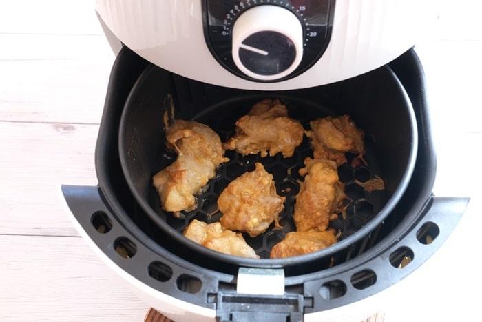 カラットフライヤー 料理ができた画像
